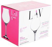Pahar LAV HT-37042/JUL 526 (pentru vin 6 buc./270 ml)