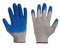 RWL L Синие перчатки с латексным покрытием