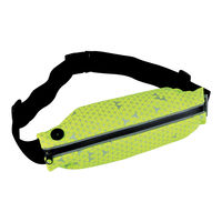 Geanta p/u alergat Spokey Run Belt Ghost, yellow-black, 924972