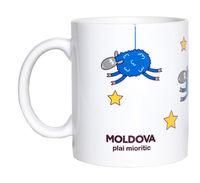 купить Кружка белая – Moldova plai mioritic в Кишинёве
