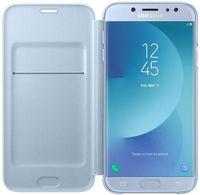 Чехол для моб.устройства Samsung EF-WJ730, Galaxy J7 2017, Flip Cover, Blue
