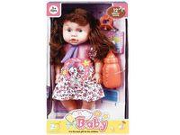 Кукла со звуком и аксессуарами (роз цветы), 32X18.5X11cm