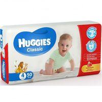 Scutece Huggies Classic Jumbo  4  (7-18 kg)  50 buc.