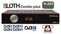 HD Sloth Combo Plus PVR (H.265/HEVC) DVB-S/S2/T/T2/C/IPTV
