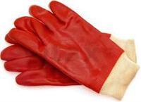 Перчатки защитные маслостойкие красные Арт. 420