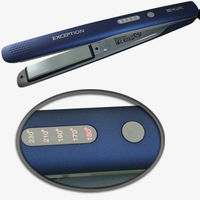 Щипцы для выпрямления волос EXCEPTION 03-405 Blue DEWAL