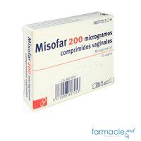 Misofar comp.vag.200 mcg N4 (Misoprostolum)