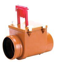 купить Обратный клапан  ПВХ  dn110 - горизонт. (оранж.) фиксатор HL710.1  M в Кишинёве
