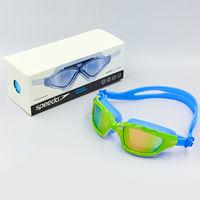 Очки-полумаска для плавания (поликарбонат, TPR, силикон) Speedo S8600 (893)