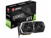 Видеокарта MSI GeForce RTX 2070 ARMOR 8G OC (8 ГБ/GDDR6/256 бит)