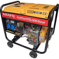 Дизельный генератор 3kW  KTEL 3 KW Kraft Tool