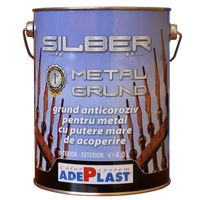 Грунтовка по металлу антикоррозионная SILBER METAL GRUND 4л