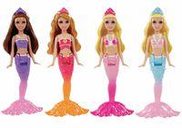 Barbie BDB59 Мини-русалочка м/ф Принцесса жемчужин (4 модели)