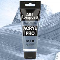Vopsea acrilică Art Kompozit, (512) Gri-albastru, 75 ml