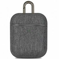 Airpods 1&2 Canvas Case, with Hang Grey