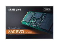 M.2 SATA SSD 250GB Samsung 860 EVO MZ-N6E250BW