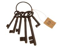 купить Связка ключей чугунных 6шт в Кишинёве