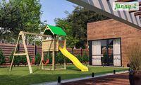 Деревянная детская площадка FUNNY 2