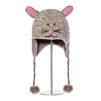 Шапка детская Knitwits Mimi The Mousey Pilot Hat, AK1189