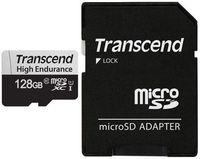 Сard de memorie Transcend MicroSD 128Gb Class 10 UHS-I (U1) + SD adapter (TS128GUSD350)