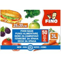 Fino Пакеты для заморозки, 50 шт.x 3 л.