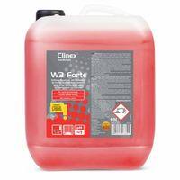 Clinex W3 Forte 10l curățarea toaletelor și a băilor