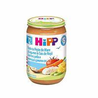 Hipp пюре лапша с рыбой и овощами в томатном соусе, 12+ мес, 220 г