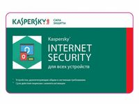 Renewal - Kaspersky Internet Security Multi-Device - 1 device, 12+3 months, Card