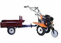 Set motocultivator TECHNOWORKER HB 700N+ Remorca RK500