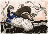 Картина напечатанная на холсте - Картина Репродукция 0009 / Печать на холсте