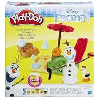Play-Doh пластилин Холодное сердце Летние приключения Олаф