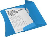 Esselte Папка на резинке ESSELTE Vivida А4 пластиковая, синяя