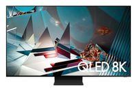 TV QLED Samsung QE65Q800TAUXUA, Black
