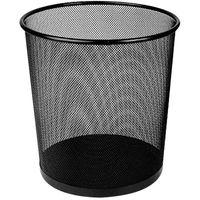 DELI Корзина для мусора DELI Quali сетка D26.6х28см черная