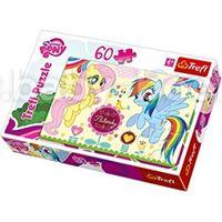 "BS 17240 Trefl Puzzles-""60"" - Ponies in the amusement park / Hasbro, My Little Pony"