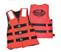 купить Страховочный жилет 480-3 Adult (70-90 kg) 55 Nt (100-110 cm) orange3 straps / EN ISO 12402-5 (1696) в Кишинёве