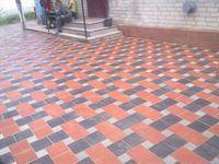 купить Bибропрессованная тротуарная плитка  (200x200x80mm) в Кишинёве