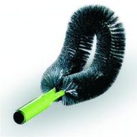 Щётка для чистки стен и труб изогнутая