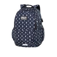 Ghiozdan Coolpack Factor unisex- Sharks (46x32x17)