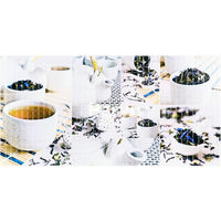 Влагостойкая панель мозаика чайная церемония