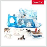 CubicFun пазл 3D The Artic