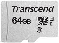 Сard de memorie Transcend MicroSD 64Gb Class 10 (TS64GUSD300S)