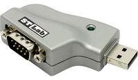 Converter USB to Serial port RS232, USB to COM9M, ST-Lab U-350