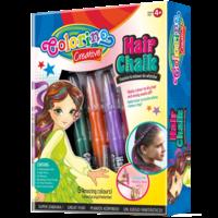 Мелки для волос 5 шт. + аксессуары  Colorino