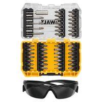 Набор бит 47 шт + защитные очки DeWALT DT70703