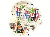 "Набор акссесуаров ""Happy Birthday!"" на 4 персоны 21ед"