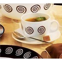 Набор чашек с блюдцами LMINARC SIROCCO BROWN G4126