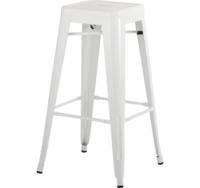 купить Металический стул 490x490x1260 мм, белый в Кишинёве