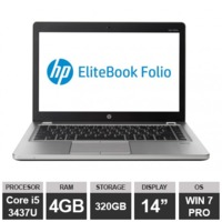"Ноутбук HP EliteBook Folio 9470m (14"" i5 3437U 4GB 320GB HDGraphics Win7 PRO)Silver"