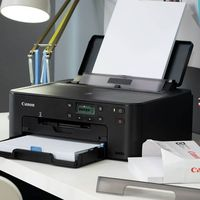 Printer Canon Pixma TS704, A4, Duplex, 4800x1200 dpi_1pl, ESAT 15/10 ipm, Print on CD/DVD, USB 2,0/Ethernet/Wi-Fi & Direct Print, PGI-480PGBK 200p, CLI-481BK 1478p, CLI-481C, CLI-481M, CLI-481Y or XL-series.